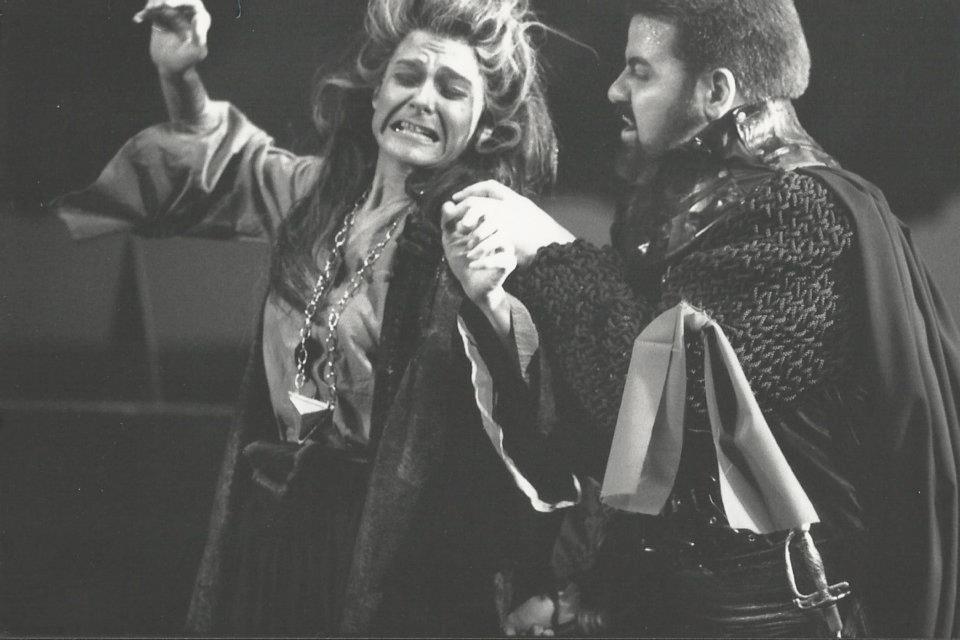 "Hildegard Ritter als Azucena in ""Il Trovatore"" Würzburg 1993"