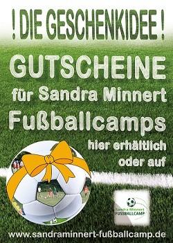 Gutschein und Gutscheine für die Sandra Minnert Fußballcamps in Hessen Wetteraukreis Ober Seemen Ortenberg