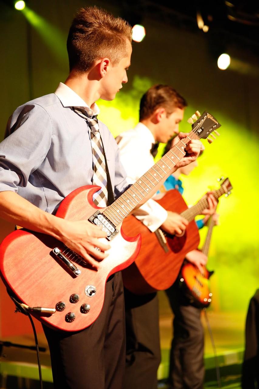 Abiball in Wipperfürth, die Band hat für eine super Atmosphäre gesorgt.