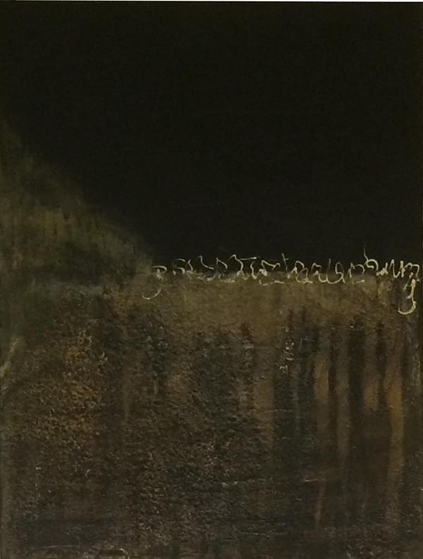 Nachthimmel   ...   Acryl auf Leinwand   ...   60 x 80 cm