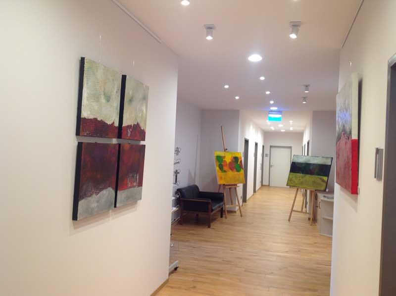 Acrylmalerei Ausstellung