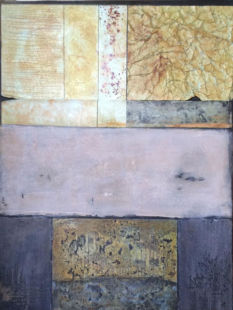 Struktur-Varianten   ...   Acryl auf Leinwand   ...   60 x 80 cm