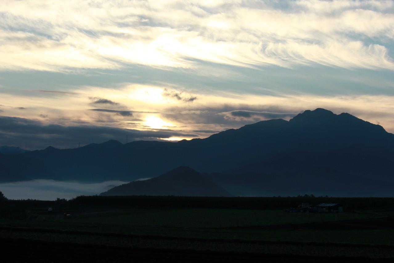 雲海の北相木村