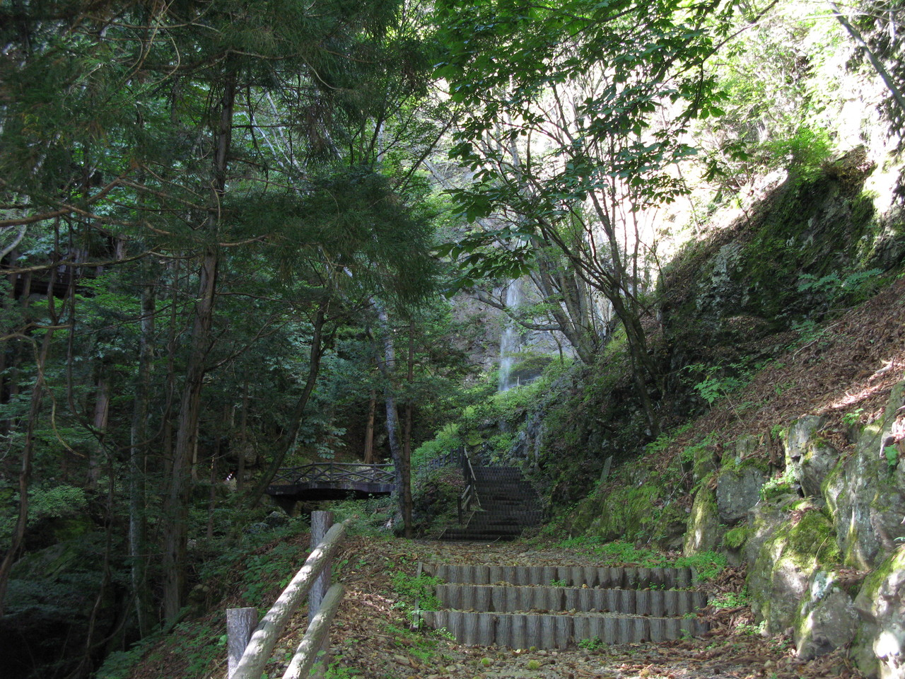 夏の三滝 自然の癒し