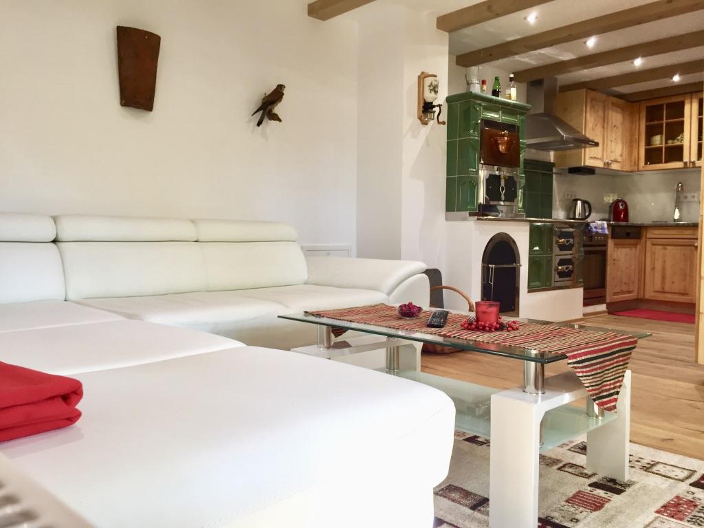 Wohnzimmer/Landhausküche