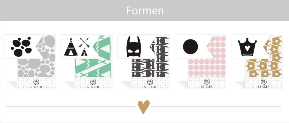 Wandsticker | Sticker - Formen