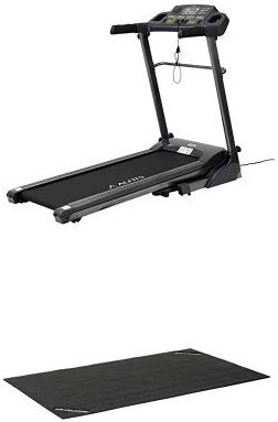 ALINCO(アルインコ) ルームランナー ランニングマシン AFR1016 時速1~16km 歩行面40×120cm 2種トレーニングプログラム 音声ガイド機能 専用マット 折りたたみ可能 移動キャスター 種類:本体+マット付き