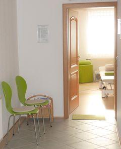 Wartebereich der Praxis für Osteopathie Michael Tölk