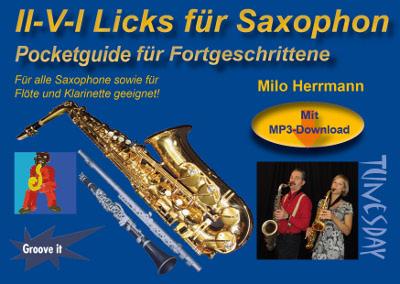 Für Alt- & Tenor-Saxofon, aber auch Flöte oder Klarinette geeignet