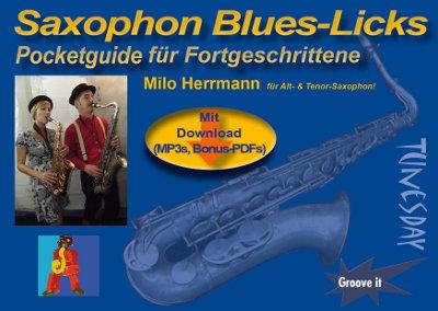 """Saxophon Blues-Licks als """"Solo-Bausteine"""" für eigene kreative Ideen und Variationen"""
