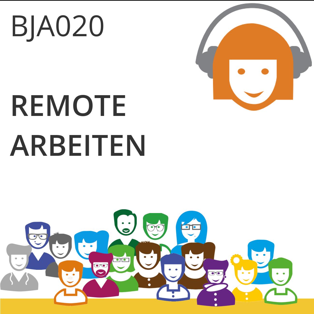 BJA020 | Remote arbeiten