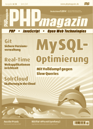Cover-Foto | PHP Magazin 04.2013