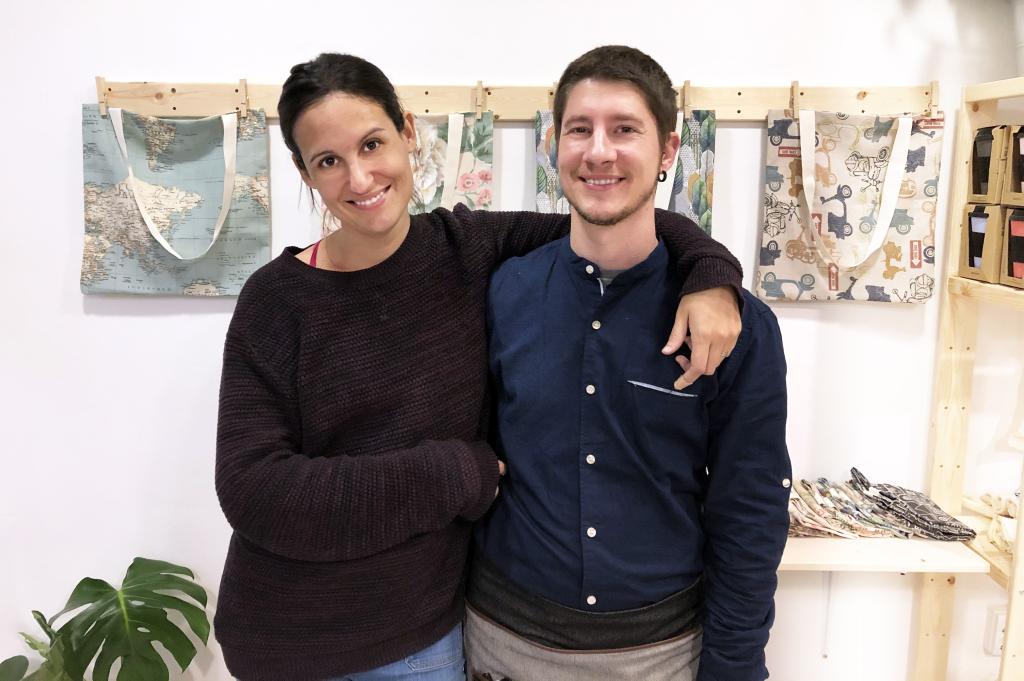 Estos son Jordi y Marta, creadores y responsables de este bonito proyecto.