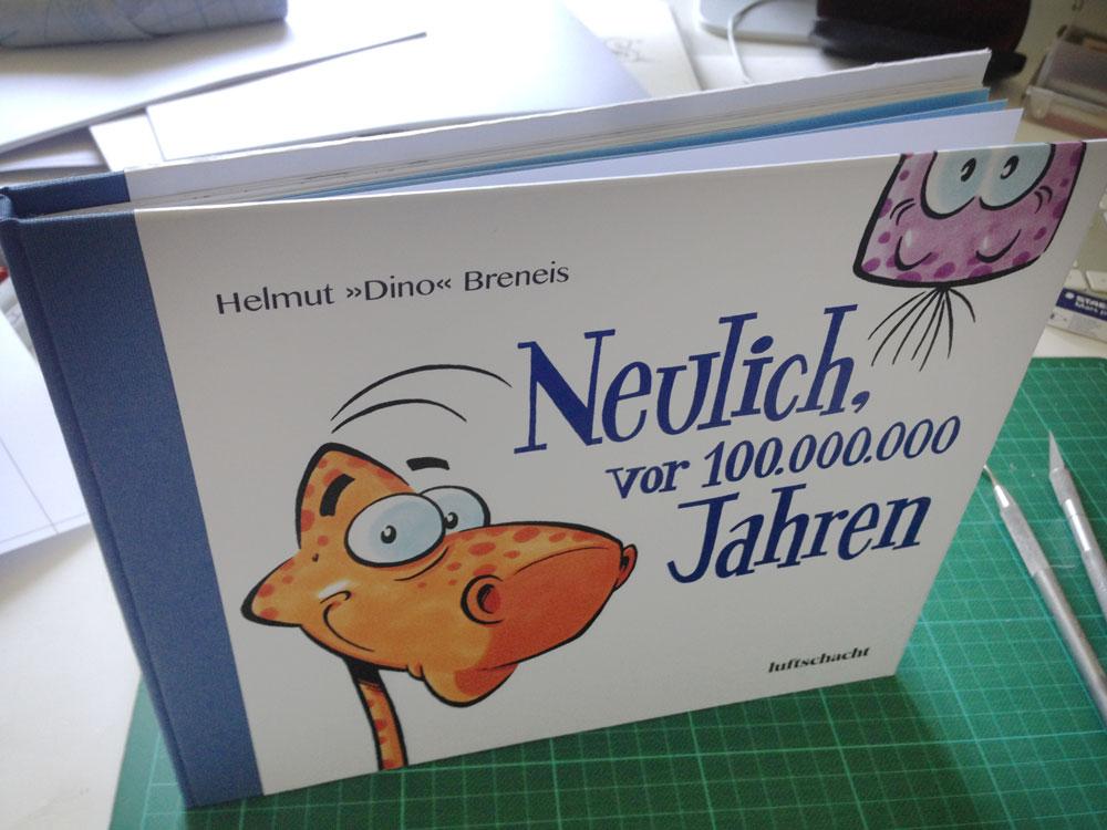 Dino-Blog, Helmut »Dino« Breneis, Dinos, Kinderbuch, Cartoon, Copic, Tusche, Romulus-Caneda-Preis, Design Austria, 2019