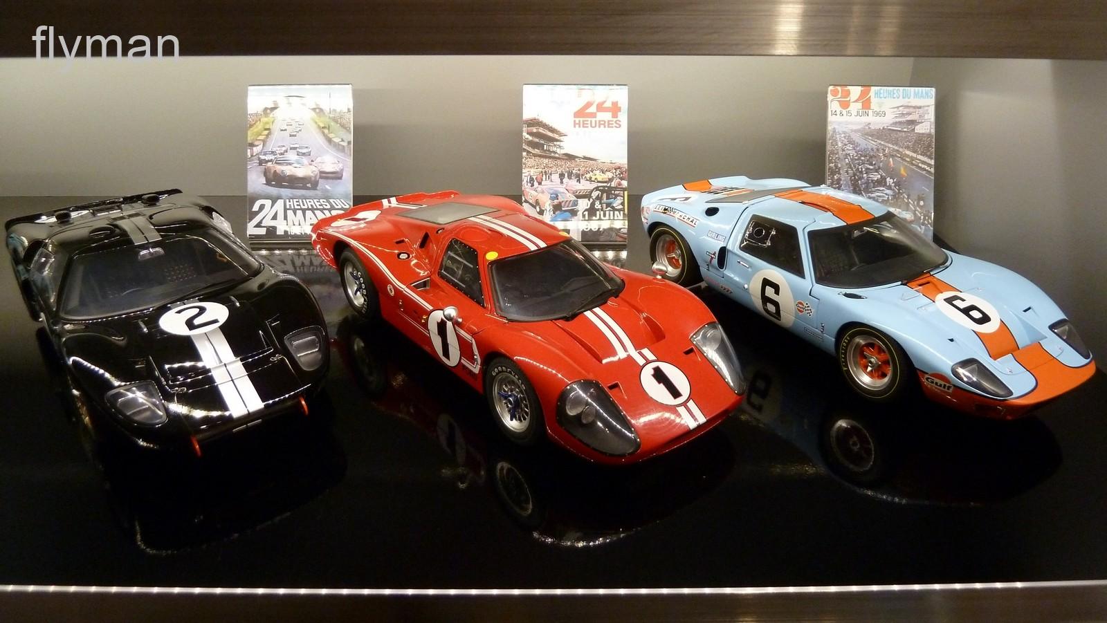 Le Mans Gewinner 1966 - 1967 - 1969