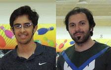 Jassim Al-Muraikhi (Div A) and Yousef Emadi (Div B)