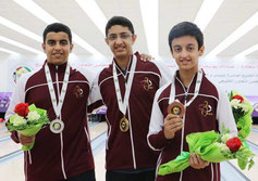 (L-R): Hamad, Hazeem, and Abdulaziz