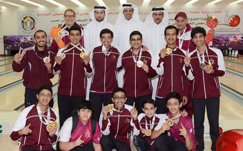 Team Qatar dominated the 10th Youth & 3rd Juniors GCC Championships 2016 held in Manama, Bahrain. Team Qatar has been announced as the Overall Champion in the said event. Congratulations for the job well done!