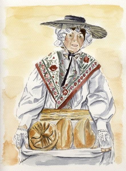 La porteuse de pain (vendu)