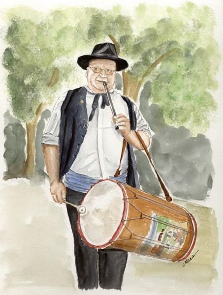 Jean-Yves, tambourinaïre (vendu)