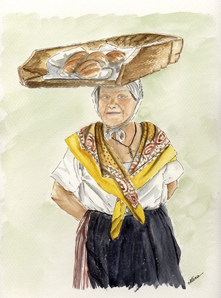 Maria, porteuse de pains