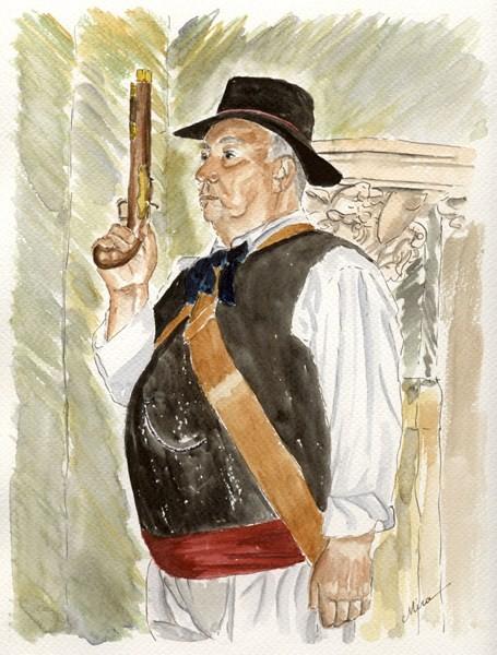 Le Capitaine des Bravadeurs (vendu)