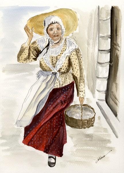 Olga, la promeneuse au Mistral