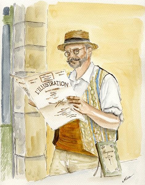 Michel, le libraire