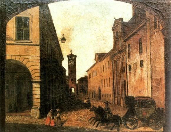 S. M. Fanelli, Piazza di Castel Bolognese   (Museo Civico di Castel Bolognese)