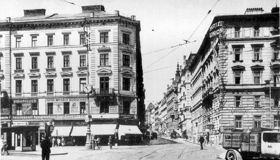 Nussdorferstrasse 21 um 1920