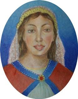 Condesa  Eylo Alfonso 7 x 6 cm