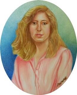 Self-portrait 7.5 x 6 cm
