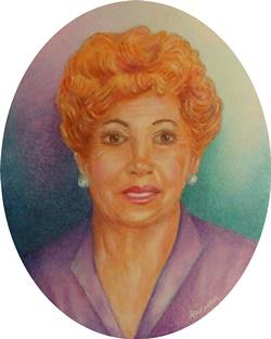 Maria Pujolar 7.5 x 6 cm