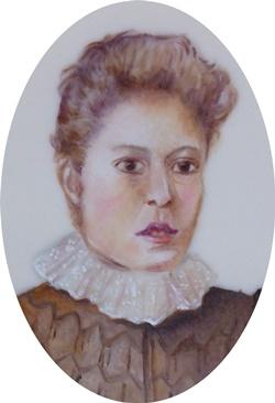Georgina Margaret 9 x 7 cm