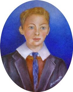 Edwardian Boy 6 x 5 cm