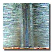 ニッケル(T50µm)と銅(T10µm)の重ね合わせ溶接の溶接ビード