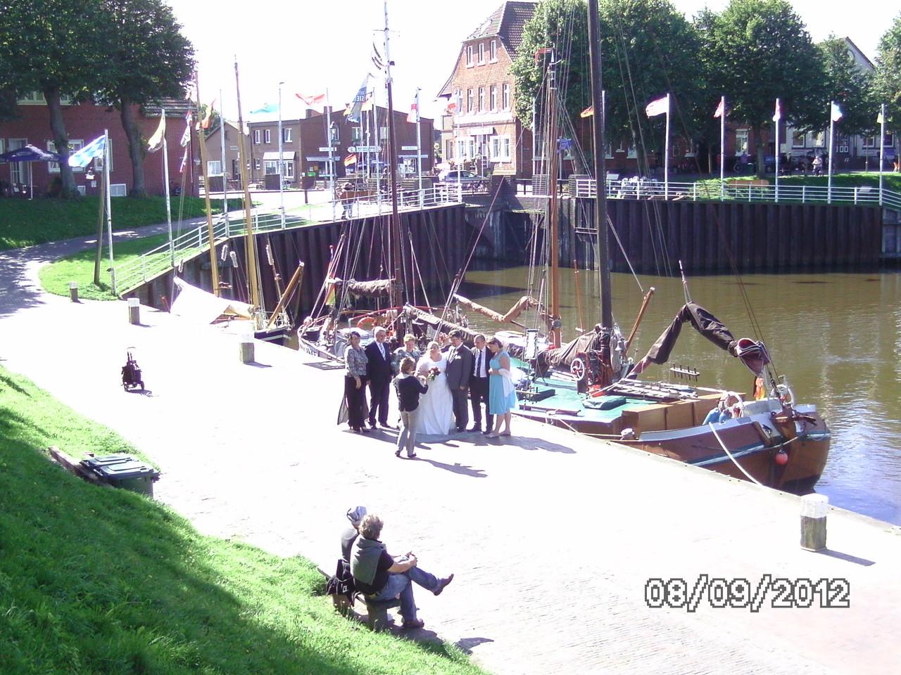 Hochzeit im Hafen