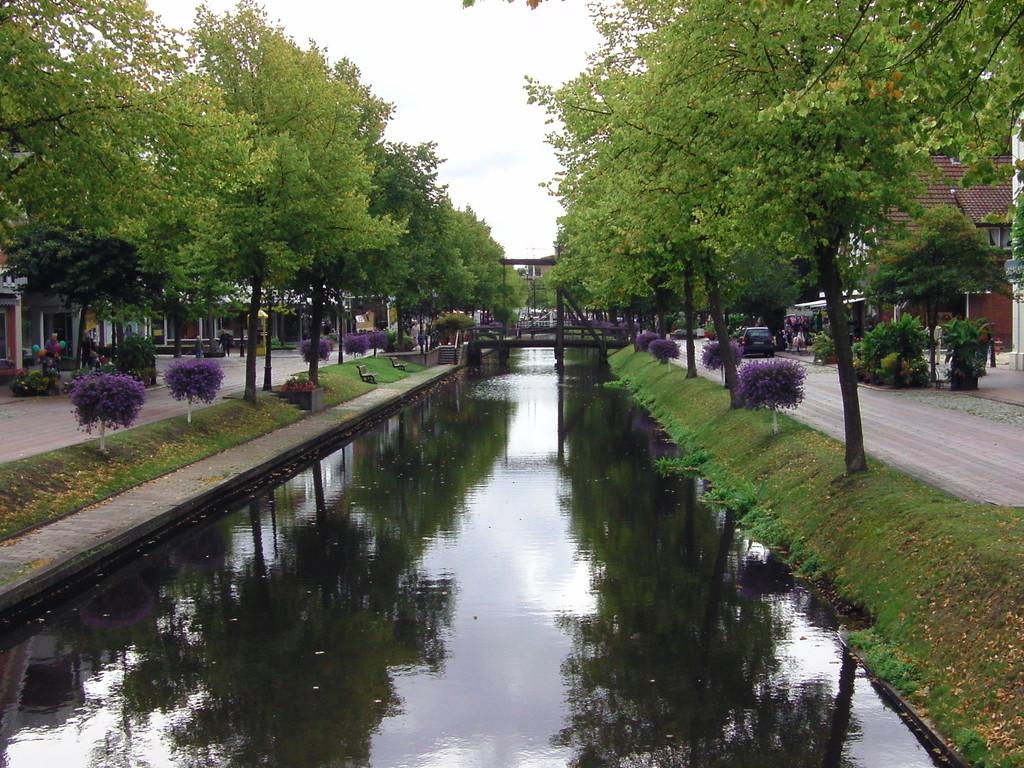 .... der Hauptkanal in Papemburg