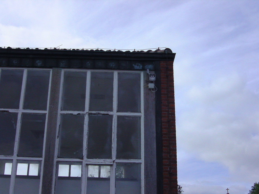 ...hier hängt die Webcam 1 von Neuharlingersiel
