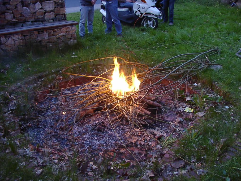 Lagerfeuer ist Pflicht