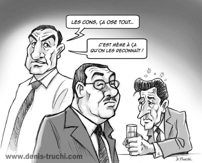 """Illustration réalisée pour """"Les meilleures répliques du cinéma"""" (First Editions) Les tontons flingueurs"""