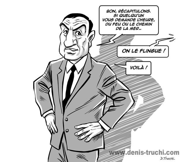 """Illustration réalisée pour """"Les meilleures répliques du cinéma"""" (First Editions) Les barbouzes"""