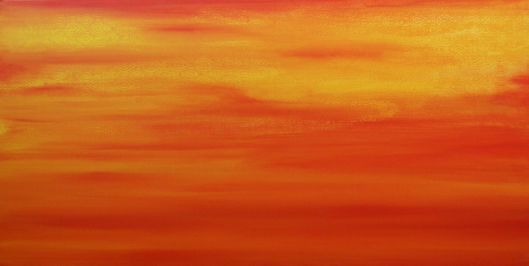 Morgenland - 50 x 100  - Acryl auf Leinwand - verkauft