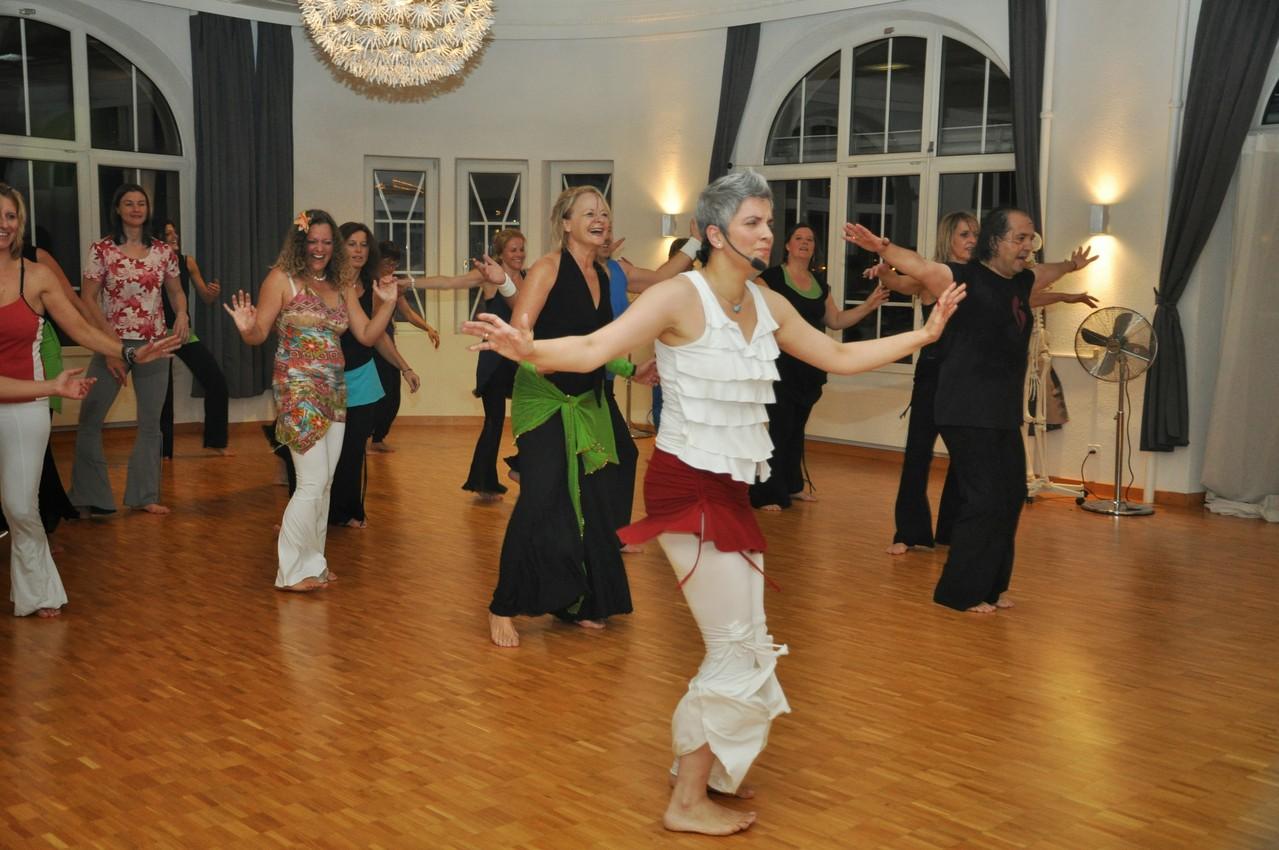 Nia ist Tanz der Sinne
