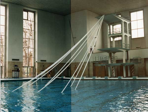Fluten, Andrews Pools, Berlin