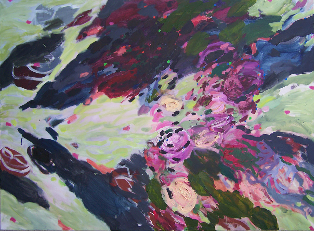 Rosenwind, Oil on canvas, 110 x 150cm, 2008