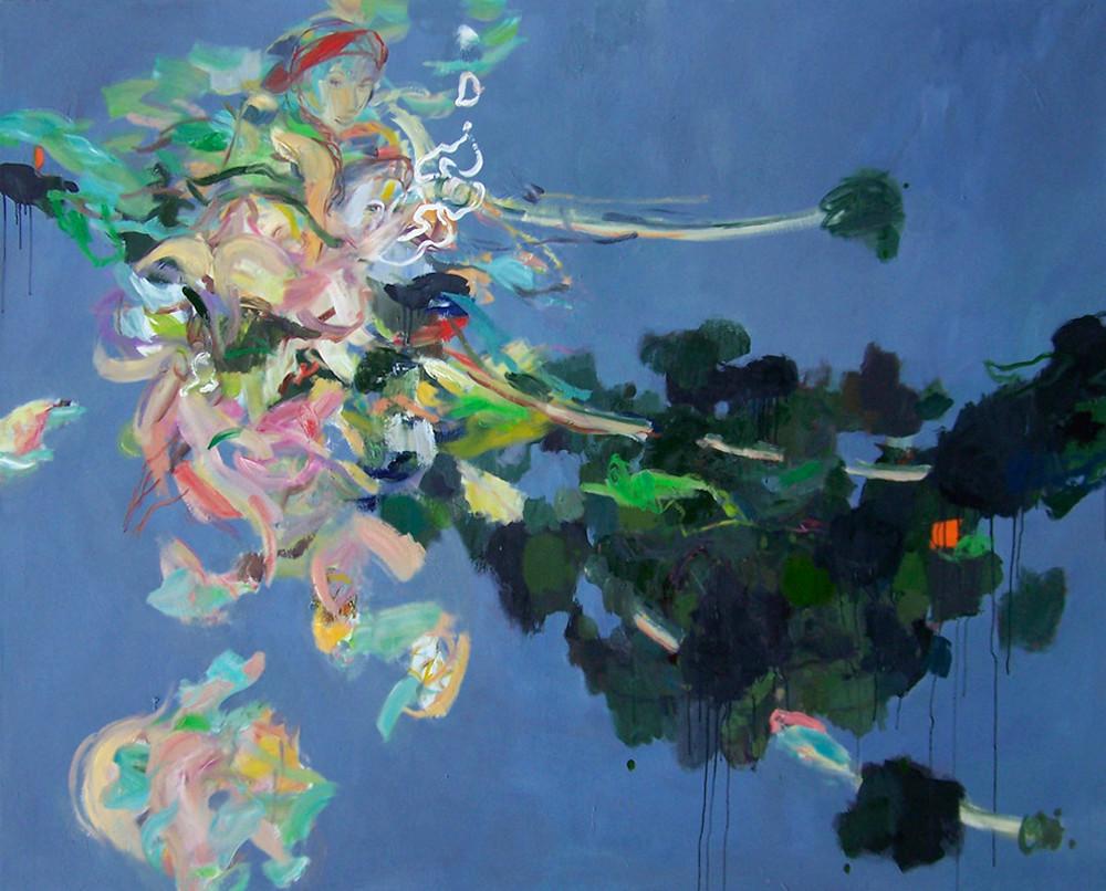Judith,Oil,180x145cm,2013