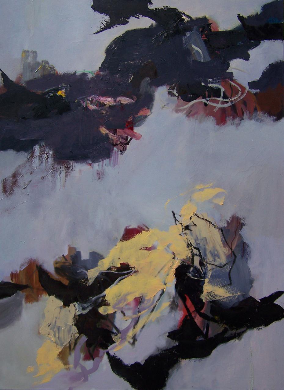 Schattenkarussell,  Oil on canvas, 115 x 85 cm, 2015
