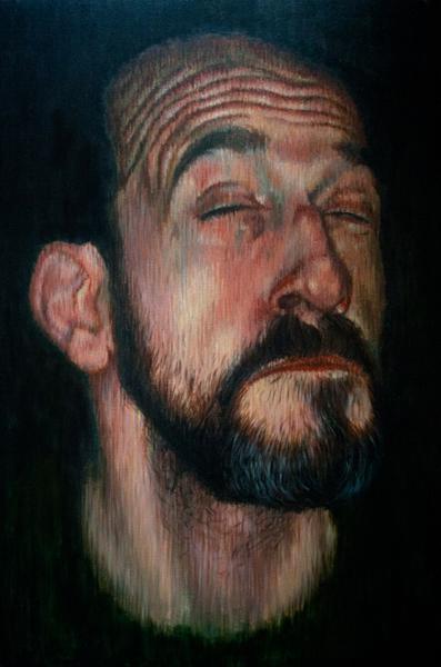 Víctor. Acrílico sobre lienzo, 146x97 cm.