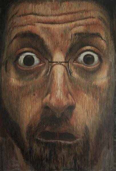Alfonso. Acrílico sobre madera, 120x80 cm.